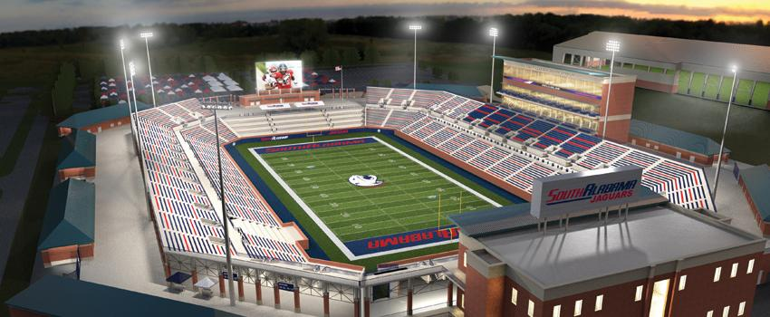 On Campus Stadium Rendering